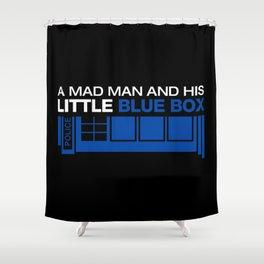 Mad man Shower Curtain