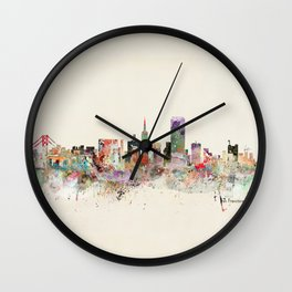 san francisco california Wall Clock
