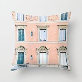 Roma #2 - Rome Italy Photography Throw Pillow