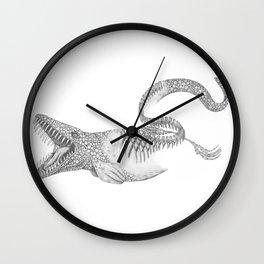 Mosasaurus Wall Clock