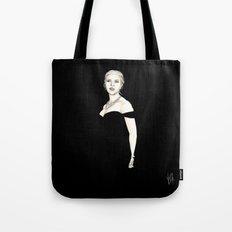 Black and Scarlett  Tote Bag