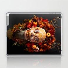 Pumpkin Harvest Muertita Laptop & iPad Skin