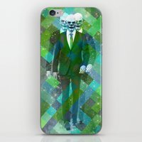 clown iPhone & iPod Skins featuring Clown... by William Rutherford