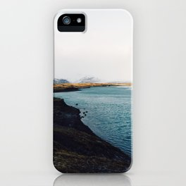 From the other side, Jökulsárlón, Iceland Art Print iPhone Case