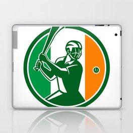 Hurling Ireland Flag Icon Laptop & iPad Skin