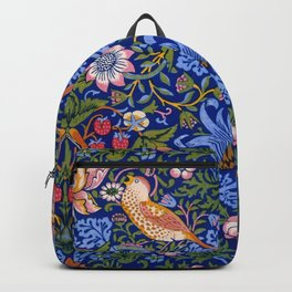 "William Morris ""Strawberry Thief"" 1. Backpack"