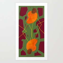 Cajufolia darker reloaded Art Print