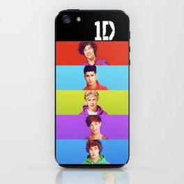 One Direction - Harry Styles, Louis Tomlinson, Niall Horan, Liam Payne & Zayn Malik iPhone Skin