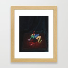 Cootie Bug Framed Art Print