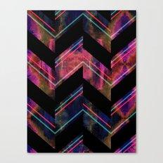 Shadow Chevron Canvas Print