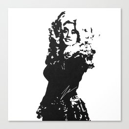 DOLLY PARTON BY ROBERT DALLAS Canvas Print