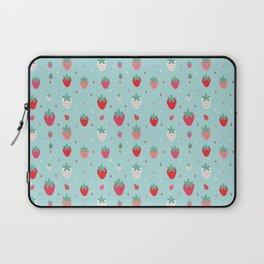 StrawberryPattern Laptop Sleeve
