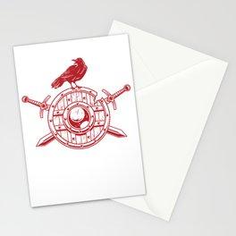 Viking Shield Stationery Cards
