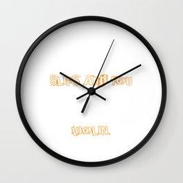 Finger Slips Gift Wall Clock