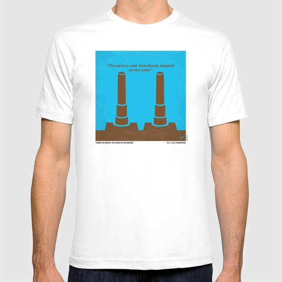 No168 My The Guns of Navarone minimal movie poster T-shirt