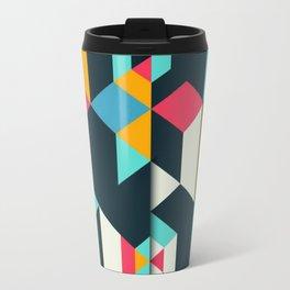 frames geometric colors Travel Mug