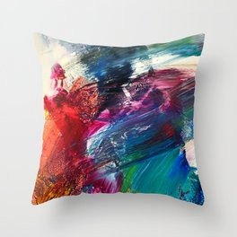 Storm Chaotic Throw Pillow