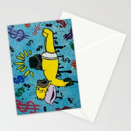 No Donuts, Mad Dough Stationery Cards