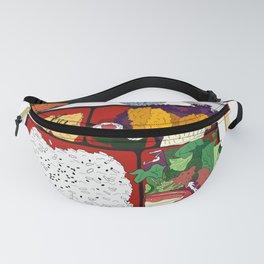 Japanese Bento Box Fanny Pack