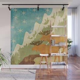 Moose Wall Mural