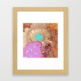 I REMEMBER LEMURIA Framed Art Print