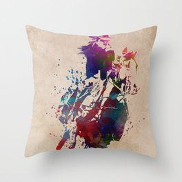 Rider sport #rider #sport Throw Pillow