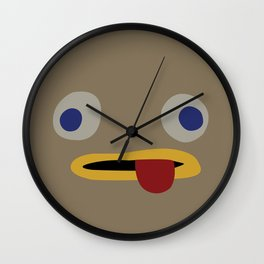 Rock Facts Wall Clock