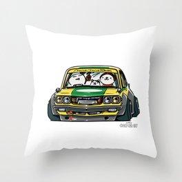 Crazy Car Art 0150 Throw Pillow
