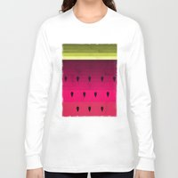watermelon Long Sleeve T-shirts featuring Watermelon by Kakel