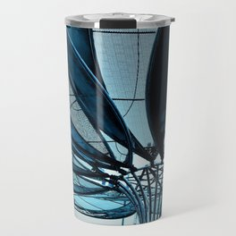 Metal petals 2 Travel Mug