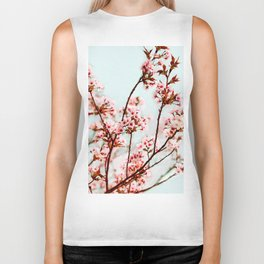Cherry Bloom Biker Tank