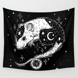 the Witch's Companion Wall Tapestry