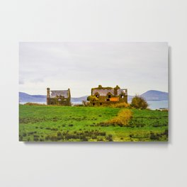 Irish Homestead Metal Print