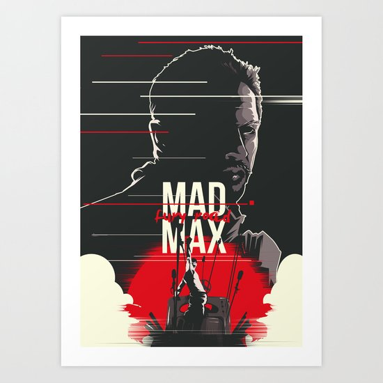 Mad Max - fury road Art Print