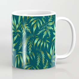 Brooklyn Forest - Green Coffee Mug