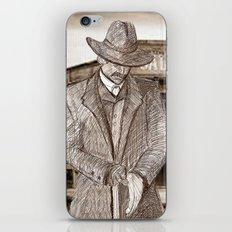 Wyatt Earp Poster iPhone & iPod Skin