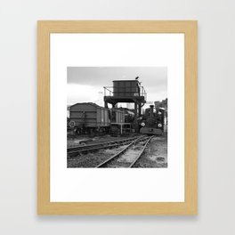 Brecon Mountain Railway, Wales Framed Art Print
