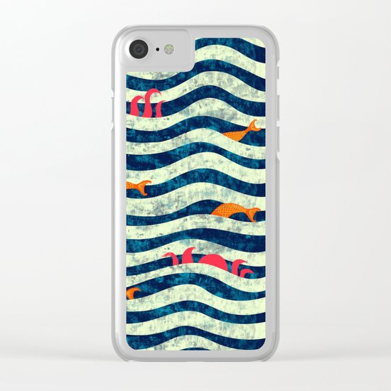 Sea roomate Clear iPhone Case