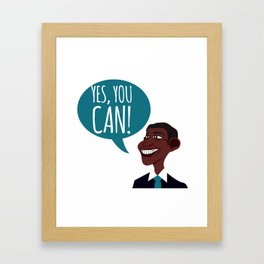 OBAMA Framed Art Print
