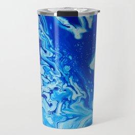 Fluid Blue 4 Travel Mug