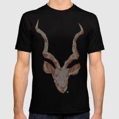 Deer MEDIUM Mens Fitted Tee Black