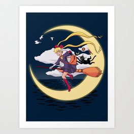 Sailor Delivery Service Art Print
