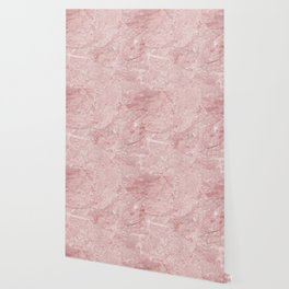 Blush Pink Marble Wallpaper