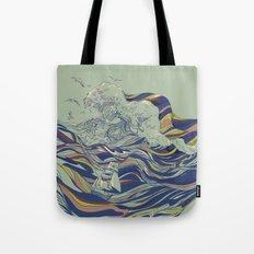 OCEAN AND LOVE Tote Bag