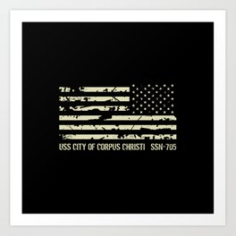 USS City of Corpus Christi Art Print
