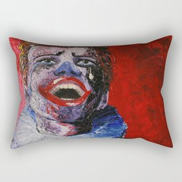 Mixed Feelings Rectangular Pillow