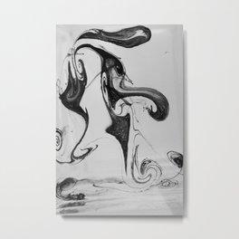 Form Ink No. 24 Metal Print