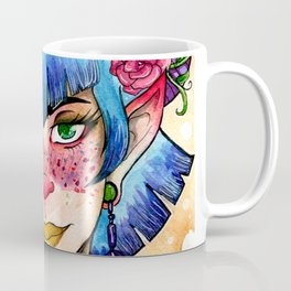 Flower Maiden Coffee Mug