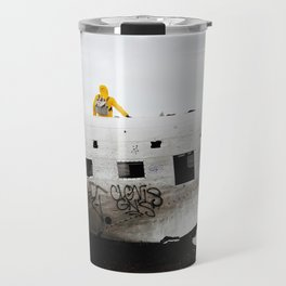 Icelandic Plane Wreck (Space Walk Series no.3) Travel Mug