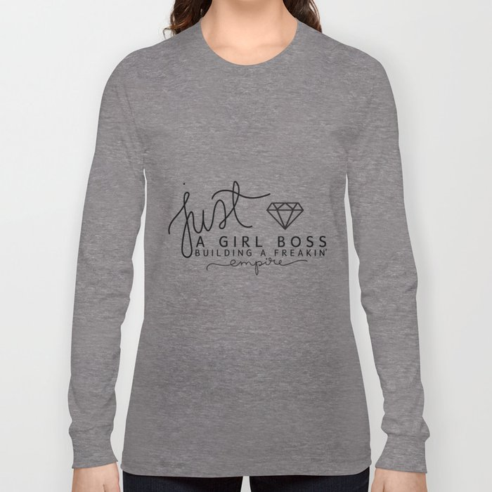 Girl Boss Empire Gold Long Sleeve T-shirt